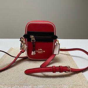 Brand new Coach red crossbody bag!♥️